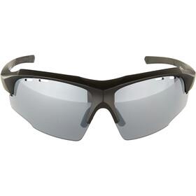 UVEX sportstyle 107 Glasses black mat/litemirror silver